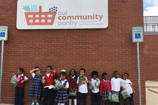 Our Food Pantry - St  Philip's School